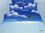 Комплект постельного белья с потрясающим 3D рисунком