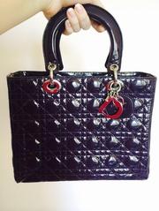 Копия  сумки lady Dior в очень редком цвете!новая, всего 3000 руб,