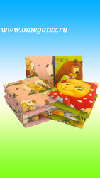 ТК Омега - Детское постельное бельё из бязи,  матрацы,  одеяла,  подушки,